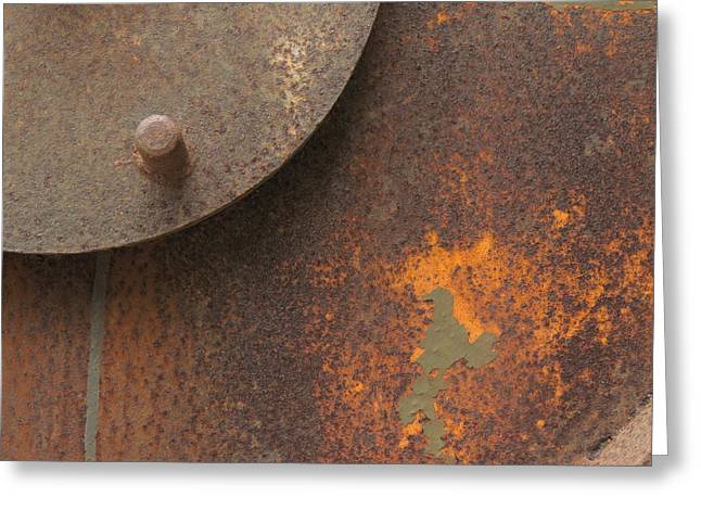 Rusty Abstraction Greeting Card
