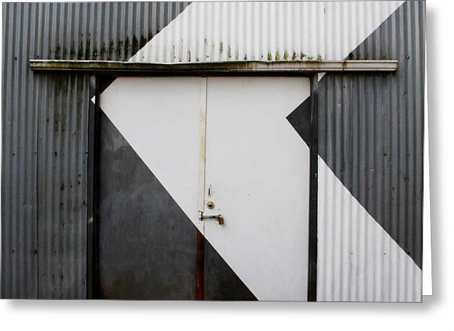 Rusty Door- Photography Greeting Card
