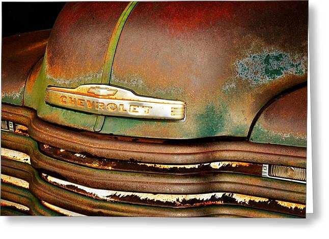Rusty Gold Greeting Card by Marty Koch