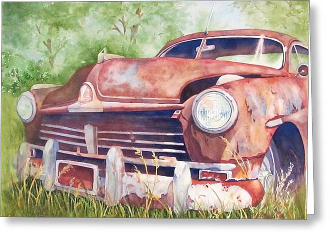 Rusty Relic Greeting Card