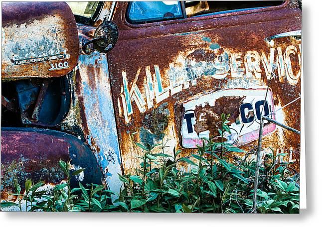 Rusty Truck #1 Greeting Card