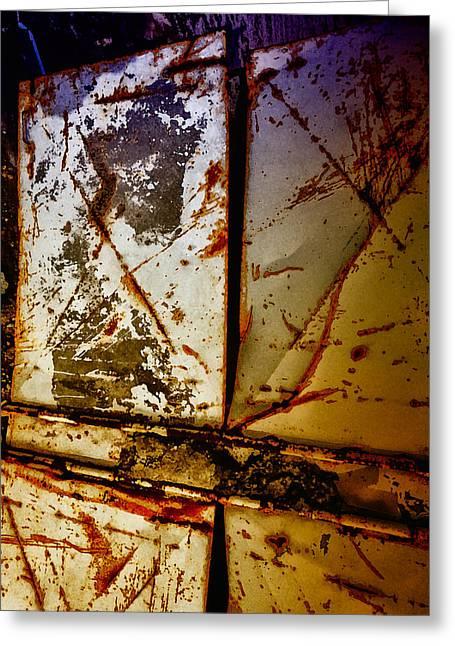 Rusty X Greeting Card