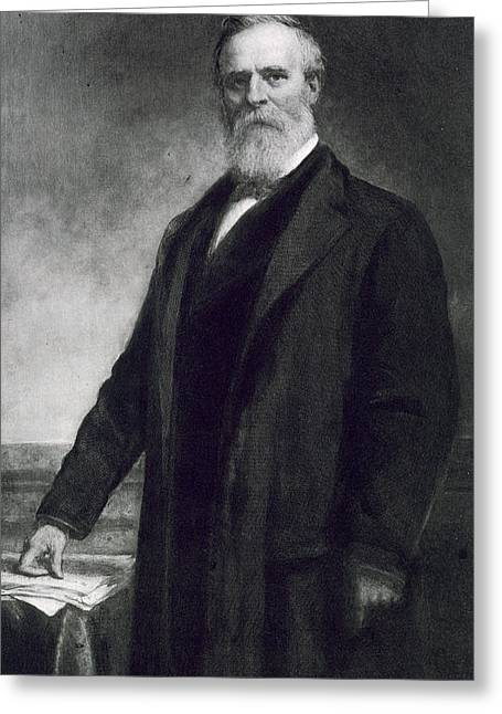 Rutherford B Hayes Greeting Card by Daniel Huntington