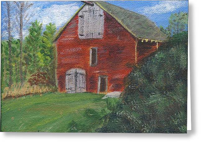 Ruth's Barn Greeting Card