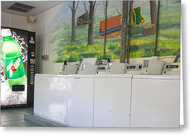 Rutledge Lake Rv Park Laundry Facilities Asheville Nc Greeting Card
