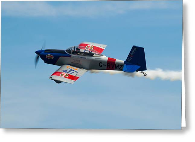 Greeting Card featuring the photograph Rv8tors Flyby Wave by Scott Lyons