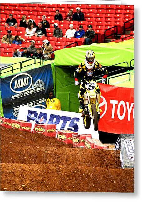 Ryan Dungey Greeting Card by Jason Blalock