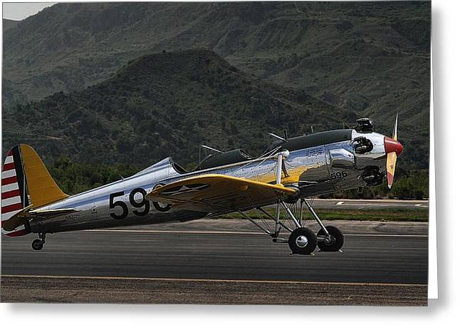 Ryan Pt-22 Recruit Greeting Card by Michael Gordon