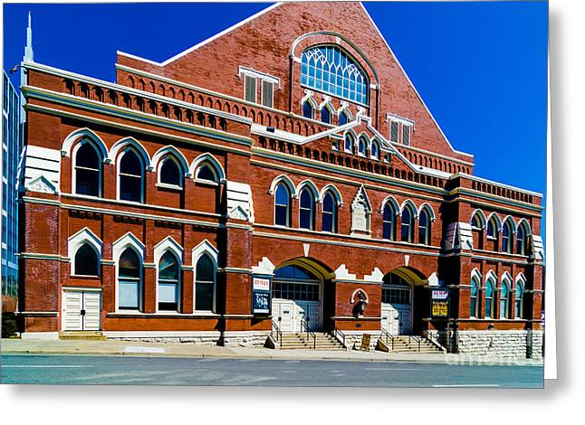 Ryman Auditorium  Greeting Card