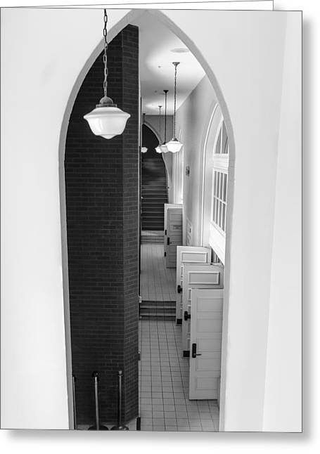 Ryman Auditorium Entrance Greeting Card