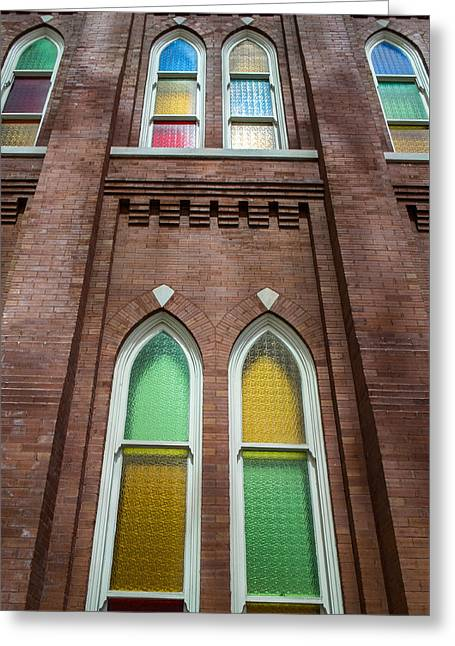 Ryman Windows Greeting Card