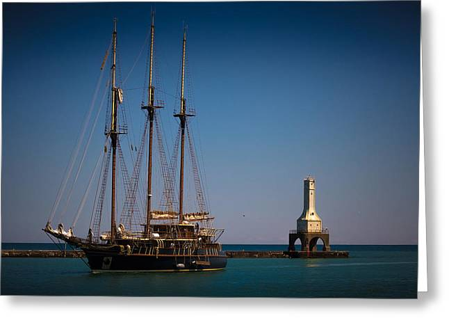 s/v Peacemaker II Greeting Card