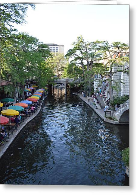 Sa River Walk 2  Greeting Card by Shawn Marlow