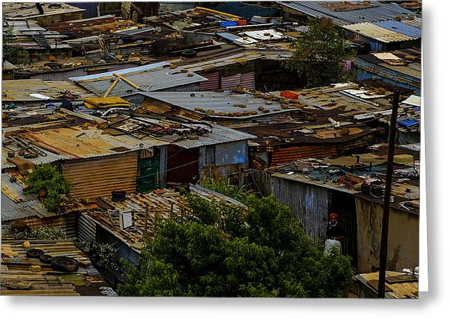 Sa Shanties Greeting Card