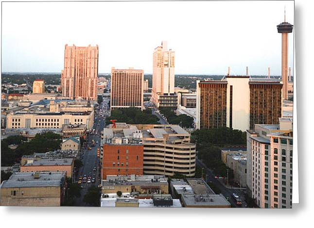 Sa Skyline 003 Greeting Card by Shawn Marlow