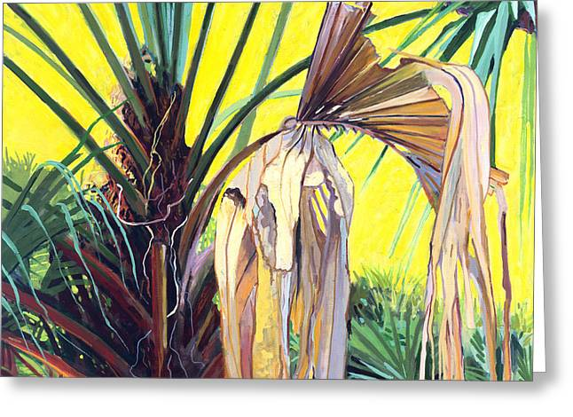 Sabal Greeting Card by David Randall