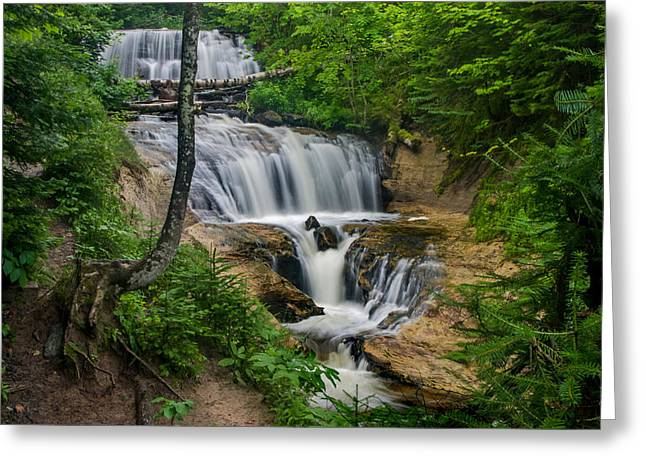 Sable Falls Greeting Card