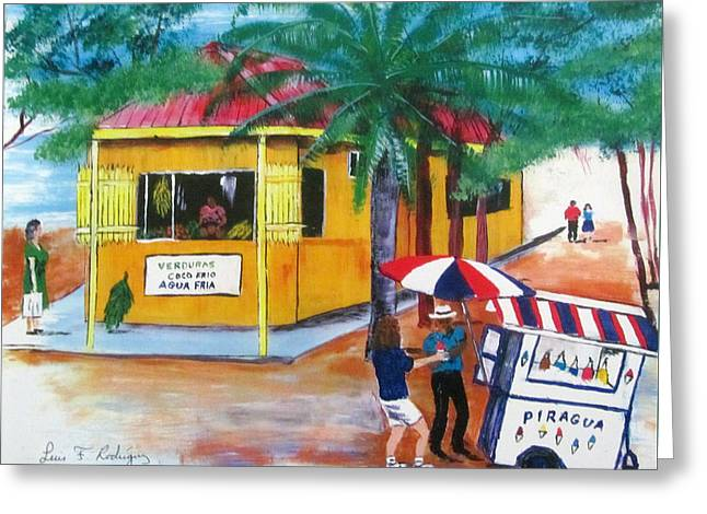 Sabor A Puerto Rico Greeting Card by Luis F Rodriguez