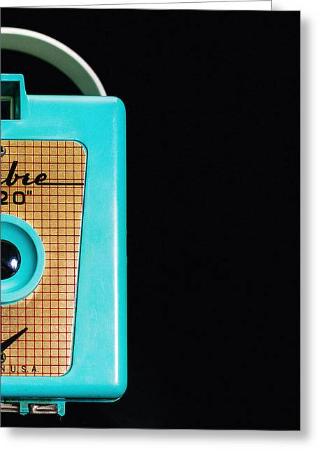 Sabre 620 Camera Greeting Card by Jon Woodhams