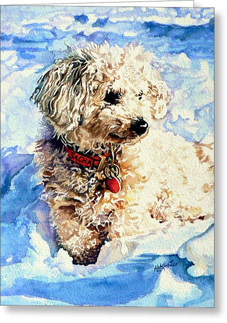 Sacha Greeting Card by Hanne Lore Koehler
