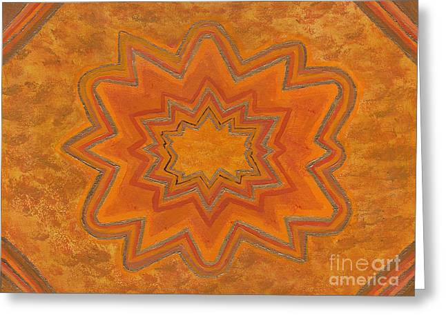 Sacral Flower Greeting Card