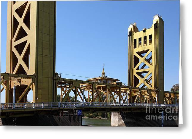 Sacramento California Tower Bridge 5d25532 Greeting Card