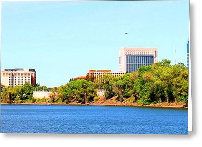 Sacramento Greeting Card by Cindi Cereceres