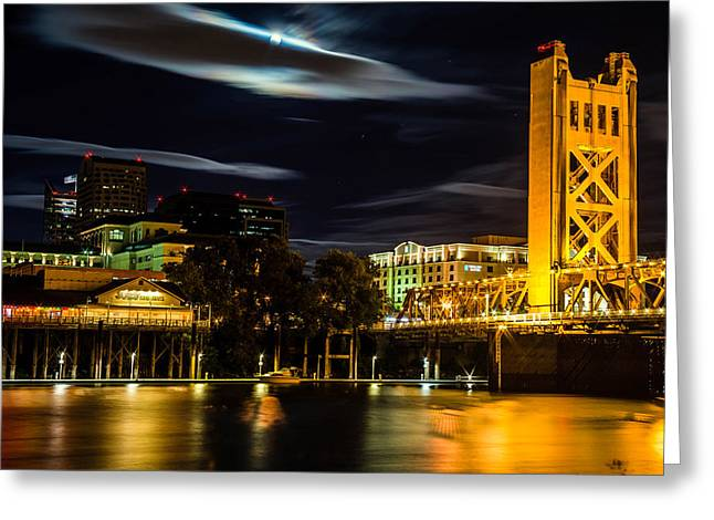 Sacramento Night Greeting Card