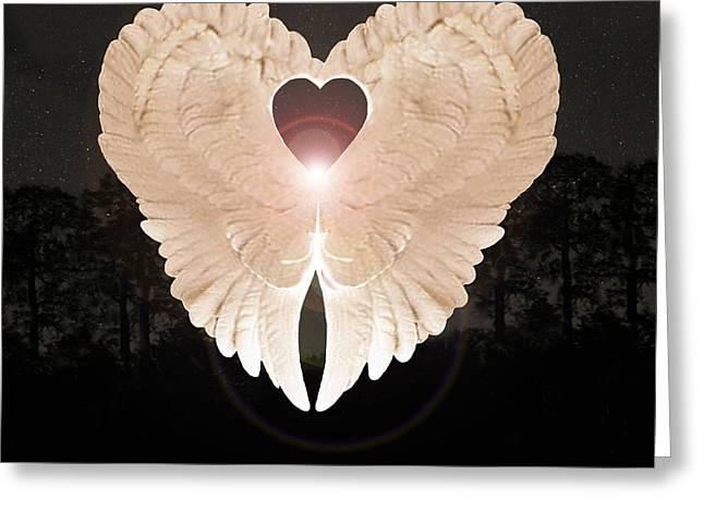 Sacred Angel Greeting Card
