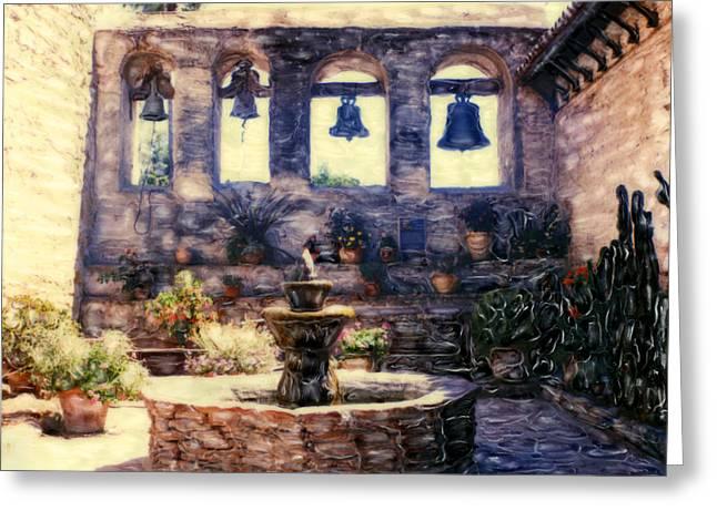 Sacred Garden Of  San Juan Capistrano Greeting Card