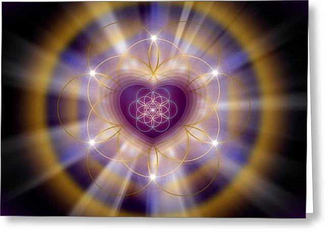 Sacred Geometry 204 Greeting Card