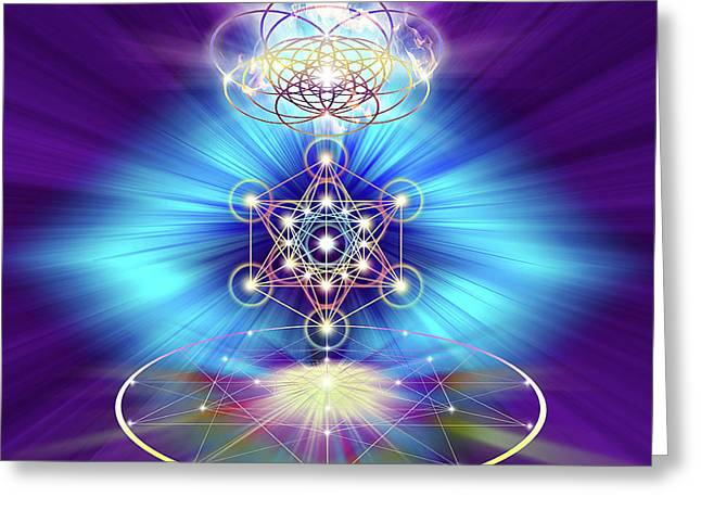 Sacred Geometry 30 Greeting Card