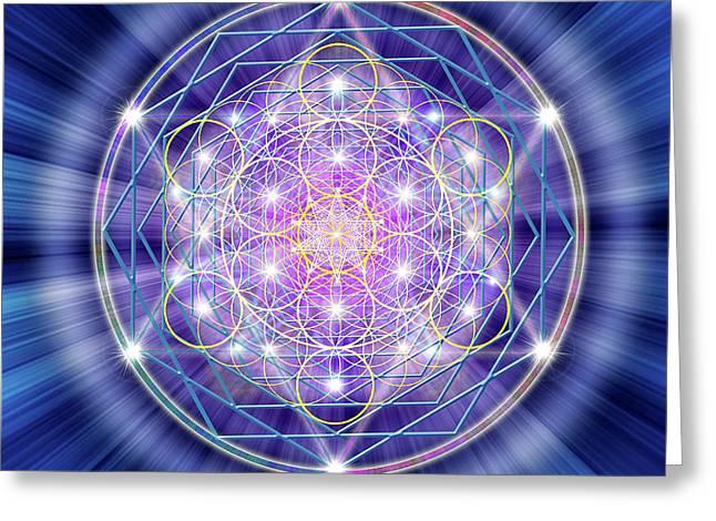 Sacred Geometry 46 Greeting Card