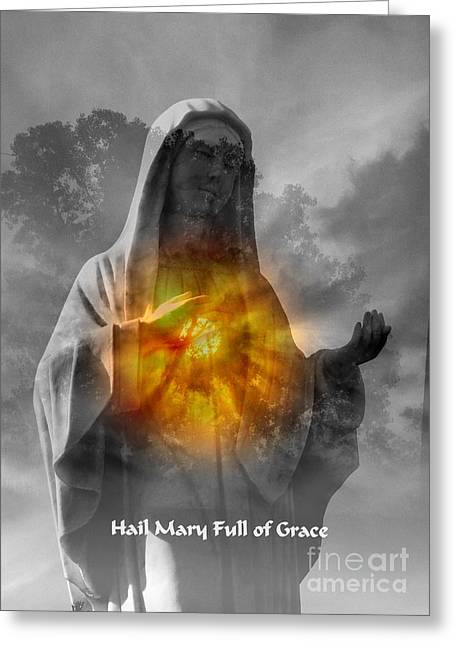 Sacred Heart Greeting Card