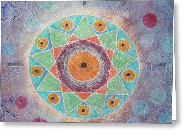 Sacred Nine Greeting Card