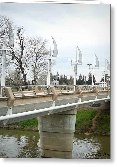 Sacramento California Water District Greeting Card