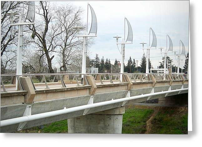 Sacramento California Water District Greeting Card