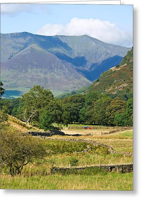 Greeting Card featuring the photograph Saddleback Mountain by Jane McIlroy
