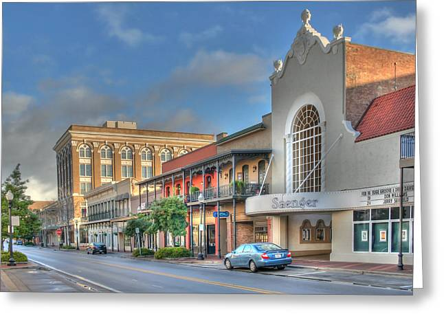 Saenger Theater Greeting Card