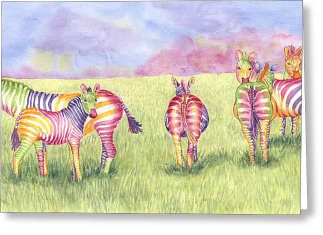Safari Glory Greeting Card