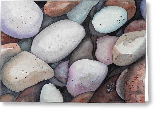 Safe Amongst The Stones Greeting Card