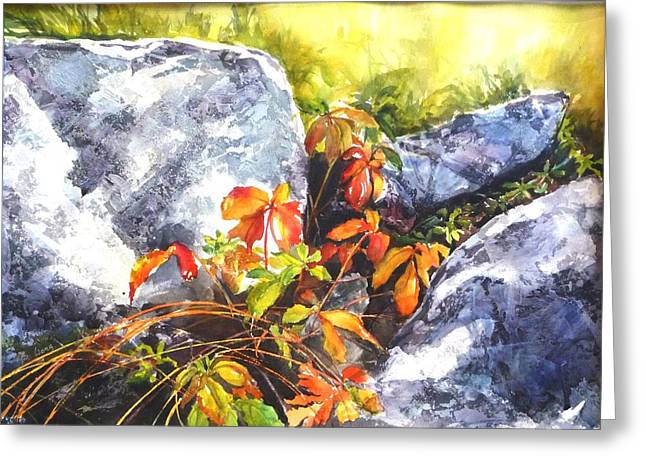 Safe Haven Greeting Card by Betty M M   Wong