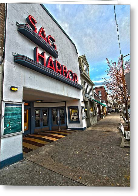 Sag Harbor Theater Greeting Card