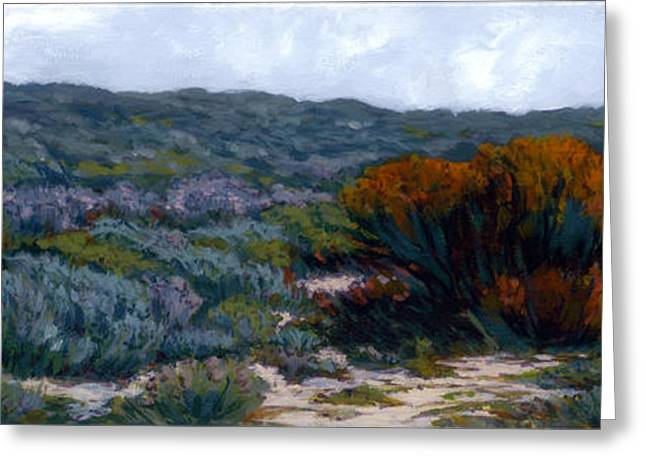 Sage On The Dunes Greeting Card