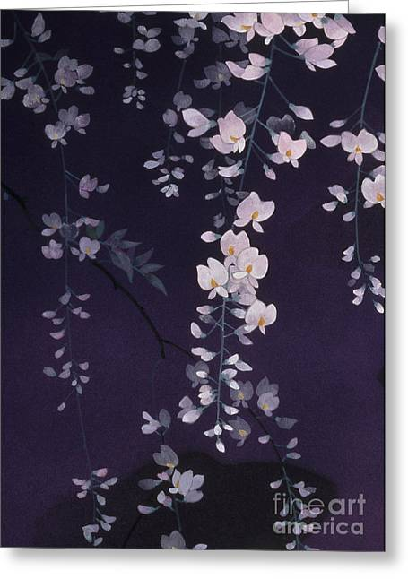 Sagi No Mai Crop II Greeting Card
