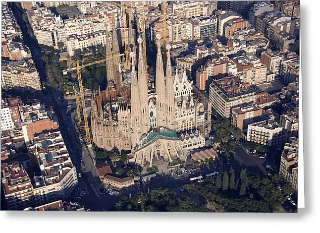 Sagrada Familia, Design By Antoni Greeting Card by Jordi Todó