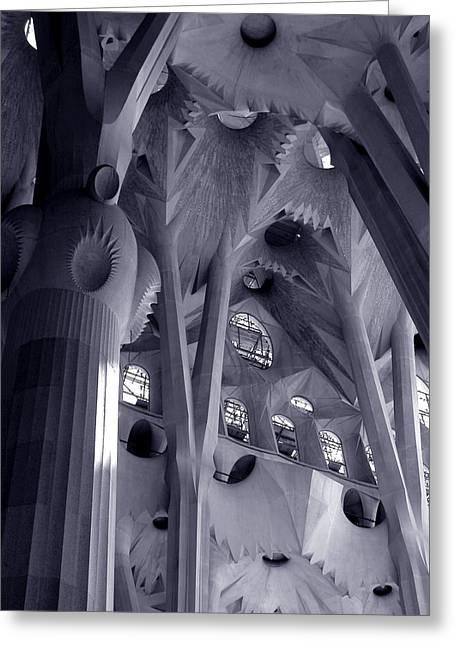 Sagrada Familia Vault Greeting Card