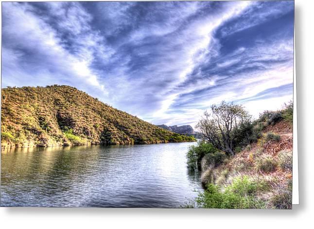 Saguaro Skies Greeting Card
