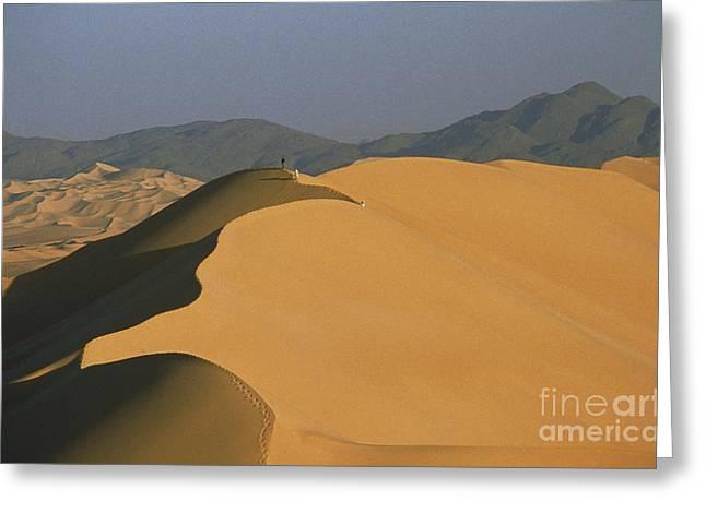 Sahara Desert, Niger Greeting Card by Bruno Guiter/Explorer
