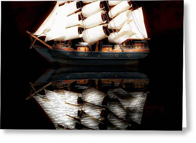Greeting Card featuring the photograph Sail Away by Aaron Berg